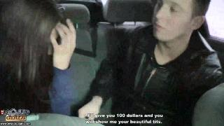 Русское порно: [MyPickupGirls] Abbey - Sexy Girl Gives in Right in The Car