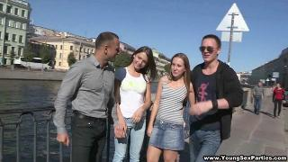 Русское порно: YoungSexParties - Foxy Di, Inna