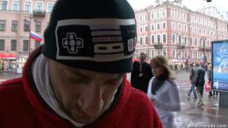 Русское порно: Angel Rivas AnalHeroes 2011