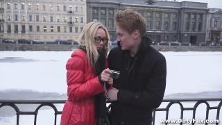 Русское порно: Brian, Lina Napoli  - A Hot Welcoming Fuck 21.05.20